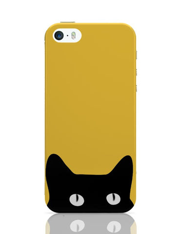 iPhone 5 / 5S Cases & Covers | Black Cat iPhone 5 / 5S Case Cover Online India