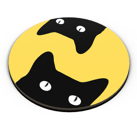 PosterGuy | Black Cat Fridge Magnet Online India by Sawariya Creatives