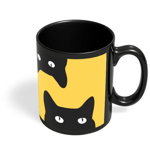 Coffee Mugs Online | Black Cat Black Coffee Mug Online India
