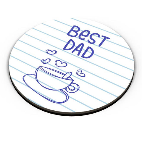 BEST DAD FOR TEA Fridge Magnet Online India