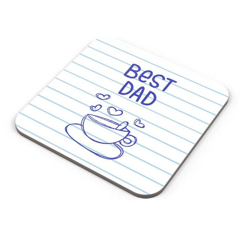 BEST DAD FOR TEA Coaster Online India