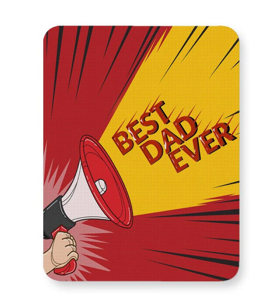 BEST DAD EVER Mousepad Online India