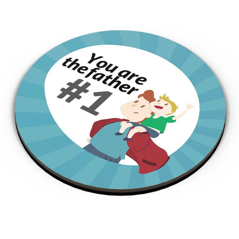 you are the father #1 Fridge Magnet Online India