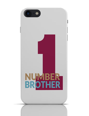 Number One Brother iPhone 7 Covers Cases Online India