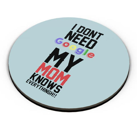 I Dont Need Google My Mom Knows Everythingh!! Mothers Day Special  Fridge Magnet Online India