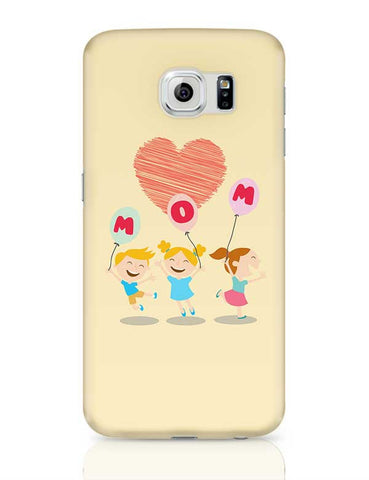 Love Mom Mothers Day Special  Samsung Galaxy S6 Covers Cases Online India