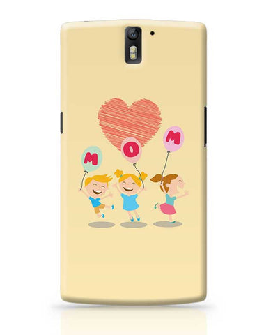 Love Mom Mothers Day Special  OnePlus One Covers Cases Online India