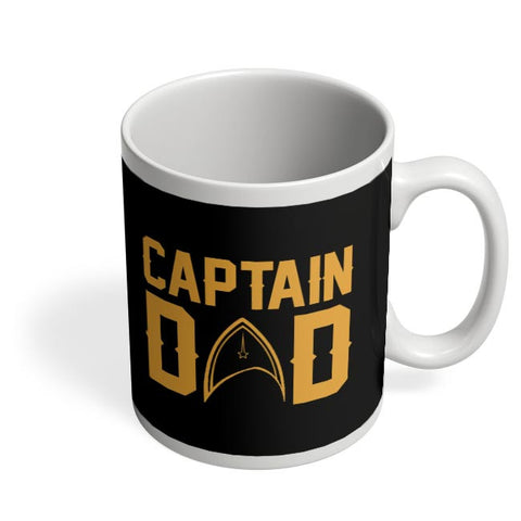captain dad illustration Coffee Mug Online India