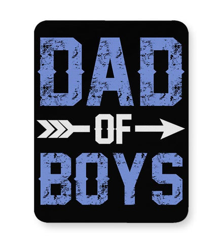 DAD OF BOYS Mousepad Online India