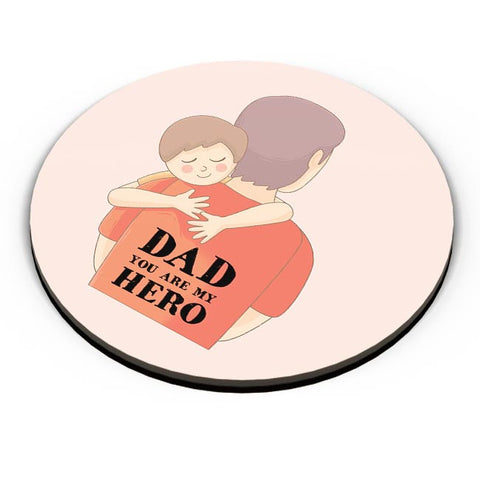 dad you are my hero illustration Fridge Magnet Online India