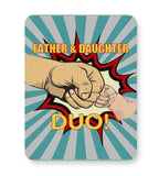 father and daughter duo! illustration Mousepad Online India