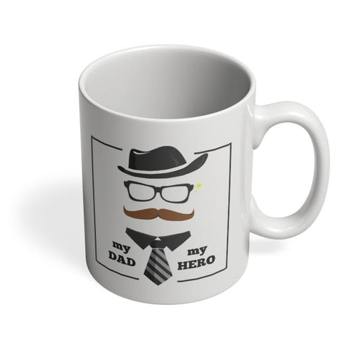 My dad my hero illustration Coffee Mug Online India