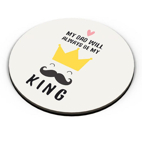 my dad will always be my king illustration Fridge Magnet Online India