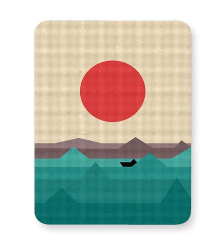 Buy Mousepads Online India | Seaside Sunrise Mouse Pad Online India