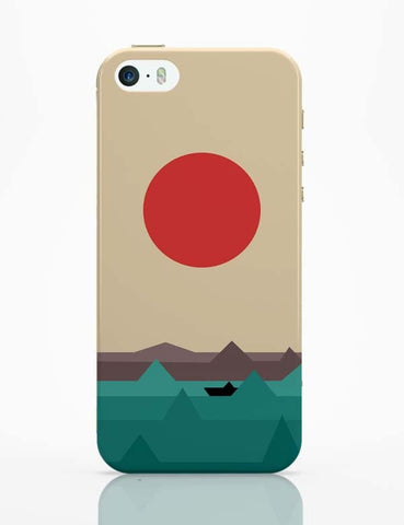 iPhone 5 / 5S Cases & Covers | Seaside Sunrise iPhone 5 / 5S Case Cover Online India