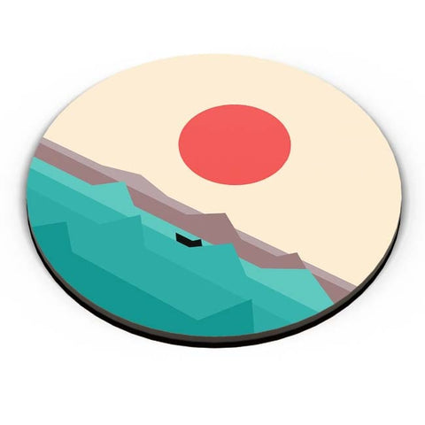 PosterGuy | Seaside Sunrise Fridge Magnet Online India by Krish Wadhwana