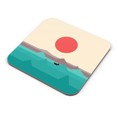 Buy Coasters Online | Seaside Sunrise Coasters Online India | PosterGuy.in
