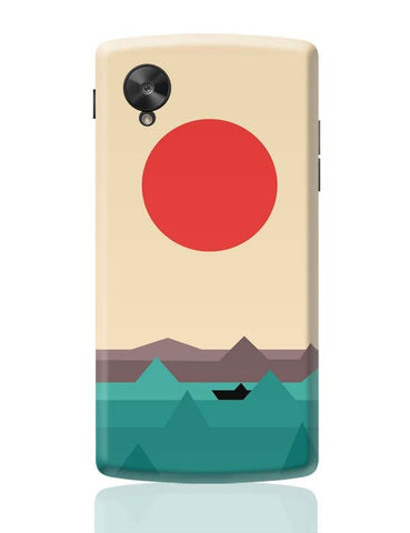 Google Nexus 5 Covers | Seaside Sunrise Google Nexus 5 Case Cover Online India