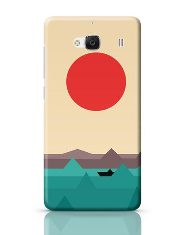 Xiaomi Redmi 2 / Redmi 2 Prime Cover| Seaside Sunrise Redmi 2 / Redmi 2 Prime Case Cover Online India