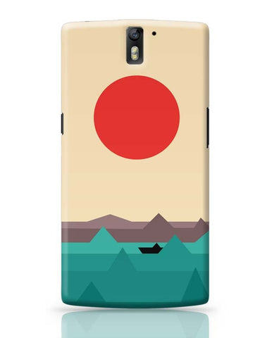 OnePlus One Covers | Seaside Sunrise OnePlus One Case Cover Online India