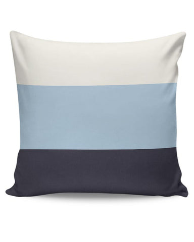 PosterGuy | Blue Hued Stripes Cushion Cover Online India