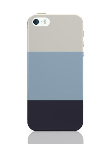 iPhone 5 / 5S Cases & Covers | Blue Hued Stripes iPhone 5 / 5S Case Cover Online India