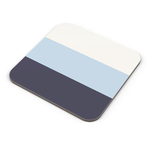 Buy Coasters Online | Blue Hued Stripes Coasters Online India | PosterGuy.in