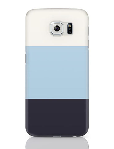 Samsung Galaxy S6 Covers | Blue Hued Stripes Samsung Galaxy S6 Case Covers Online India