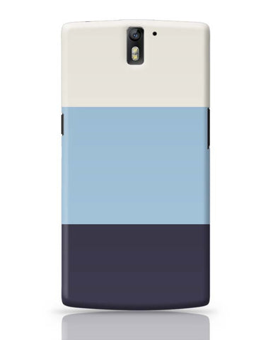 OnePlus One Covers | Blue Hued Stripes OnePlus One Case Cover Online India
