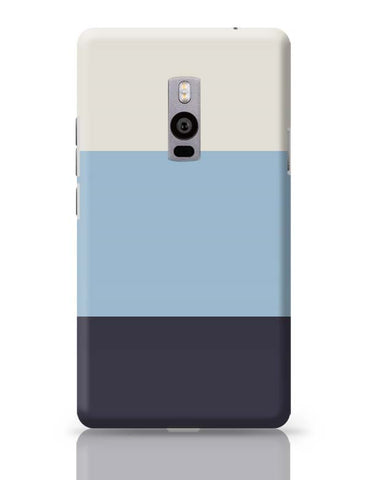 OnePlus Two Covers | Blue Hued Stripes OnePlus Two Case Cover Online India