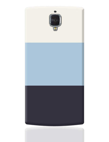 Blue Hued Stripes OnePlus 3 Cover Online India