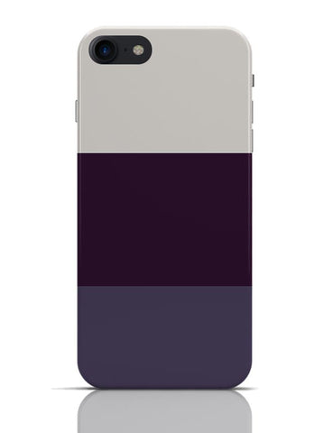 Violet Hued Stripes iPhone 7 Covers Cases Online India