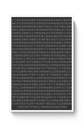 1000 Digits Of Pi Poster Online India