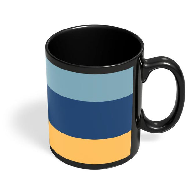 Cool Stripes Black Coffee Mug Online India