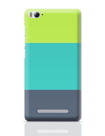 Green-Blue Stripes Xiaomi Mi 4i Covers Cases Online India