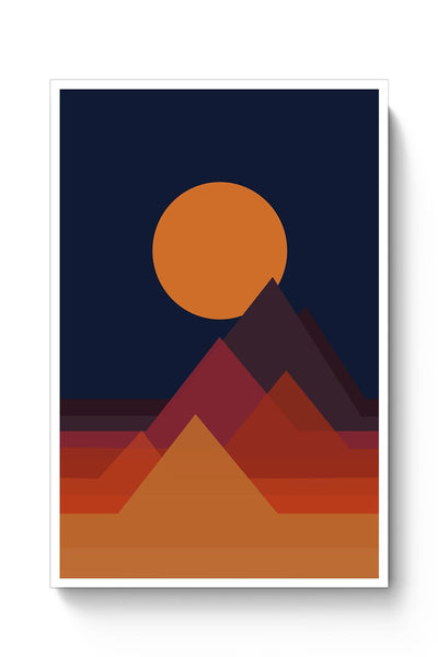 Buy Mountains Poster
