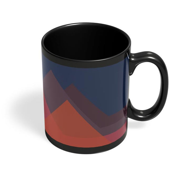 Mountains Black Coffee Mug Online India