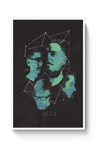 Posters Online | Alt-J Poster Online India | Designed by: RJ Artworks