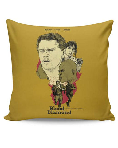 PosterGuy | Blood-Diamond Cushion Cover Online India