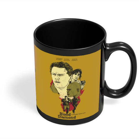 Coffee Mugs Online | Blood-Diamond Black Coffee Mug Online India