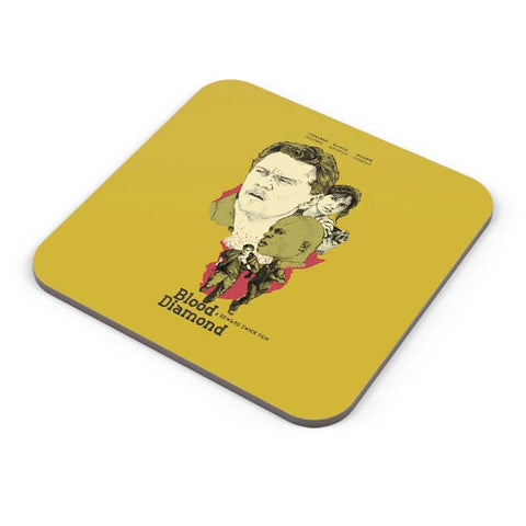 Buy Coasters Online | Blood-Diamond Coasters Online India | PosterGuy.in