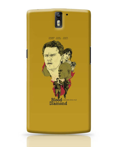 OnePlus One Covers | Blood-Diamond OnePlus One Case Cover Online India