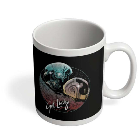 Coffee Mugs Online | Daft Punk Get Lucky Coffee Mug Online India