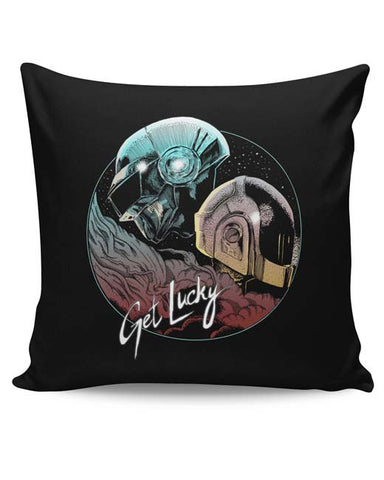 PosterGuy | Daft Punk Get Lucky Cushion Cover Online India