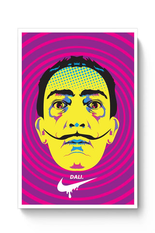 Posters Online | Salvador Dali Pop Art Poster Online India | Designed by: RJ Artworks