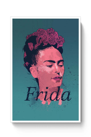Posters Online | Frida Poster Online India | Designed by: RJ Artworks