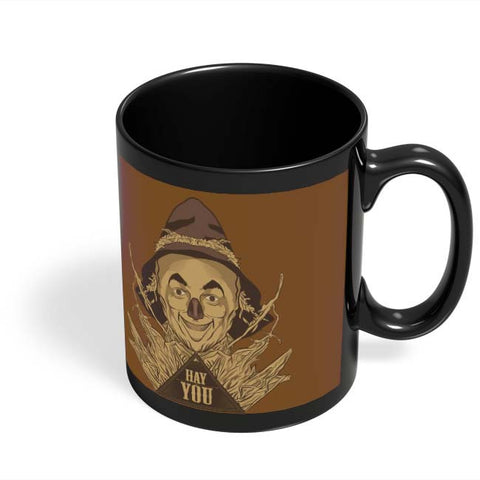 Coffee Mugs Online | Hay You Black Coffee Mug Online India