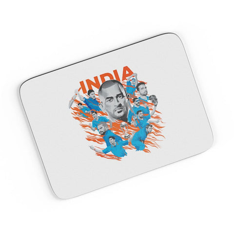 Men In Blue Indian Cricket Team A4 Mousepad Online India