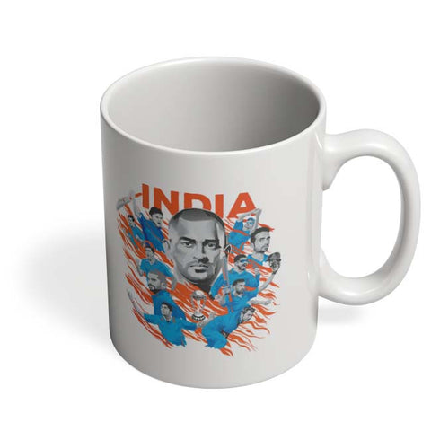 Coffee Mugs Online | Men In Blue Indian Cricket Team Coffee Mug Online India
