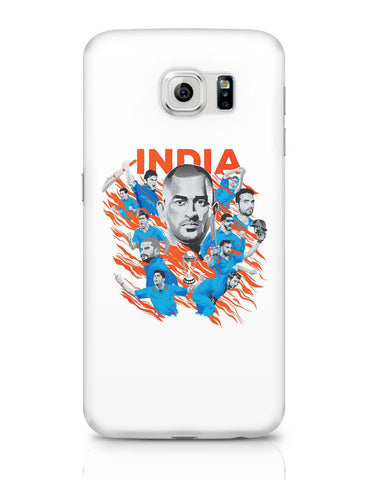 Samsung Galaxy S6 Covers | Men In Blue Indian Cricket Team Samsung Galaxy S6 Case Covers Online India